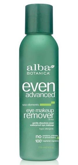 Vegan eye makeup remover