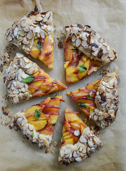 peach-galette-I-howsweeteats.com-6