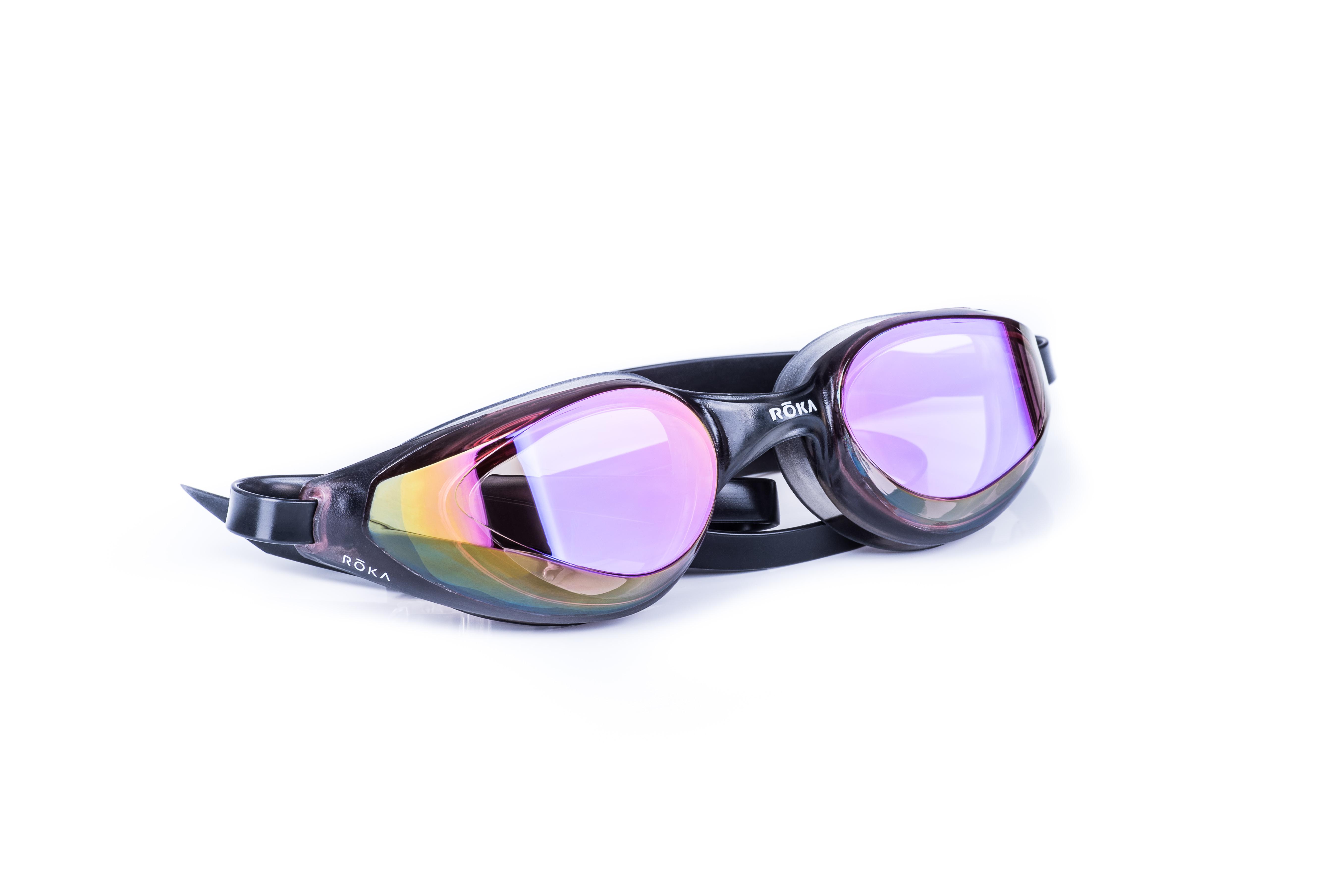 R1 Goggle on white - horizontal