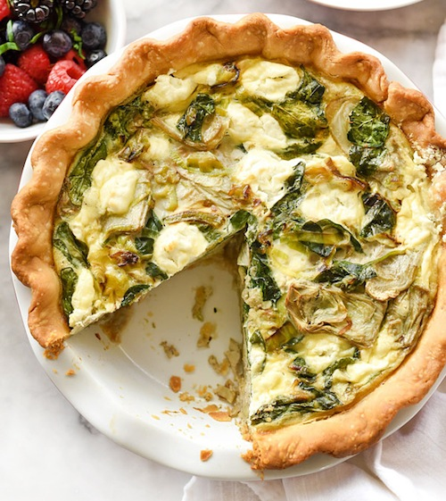 Artichoke-Spinach-and-Goat-Cheese-Quiche-foodiecrush.com-040