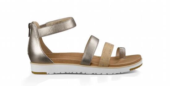 UGG Zina Metallic Sandal