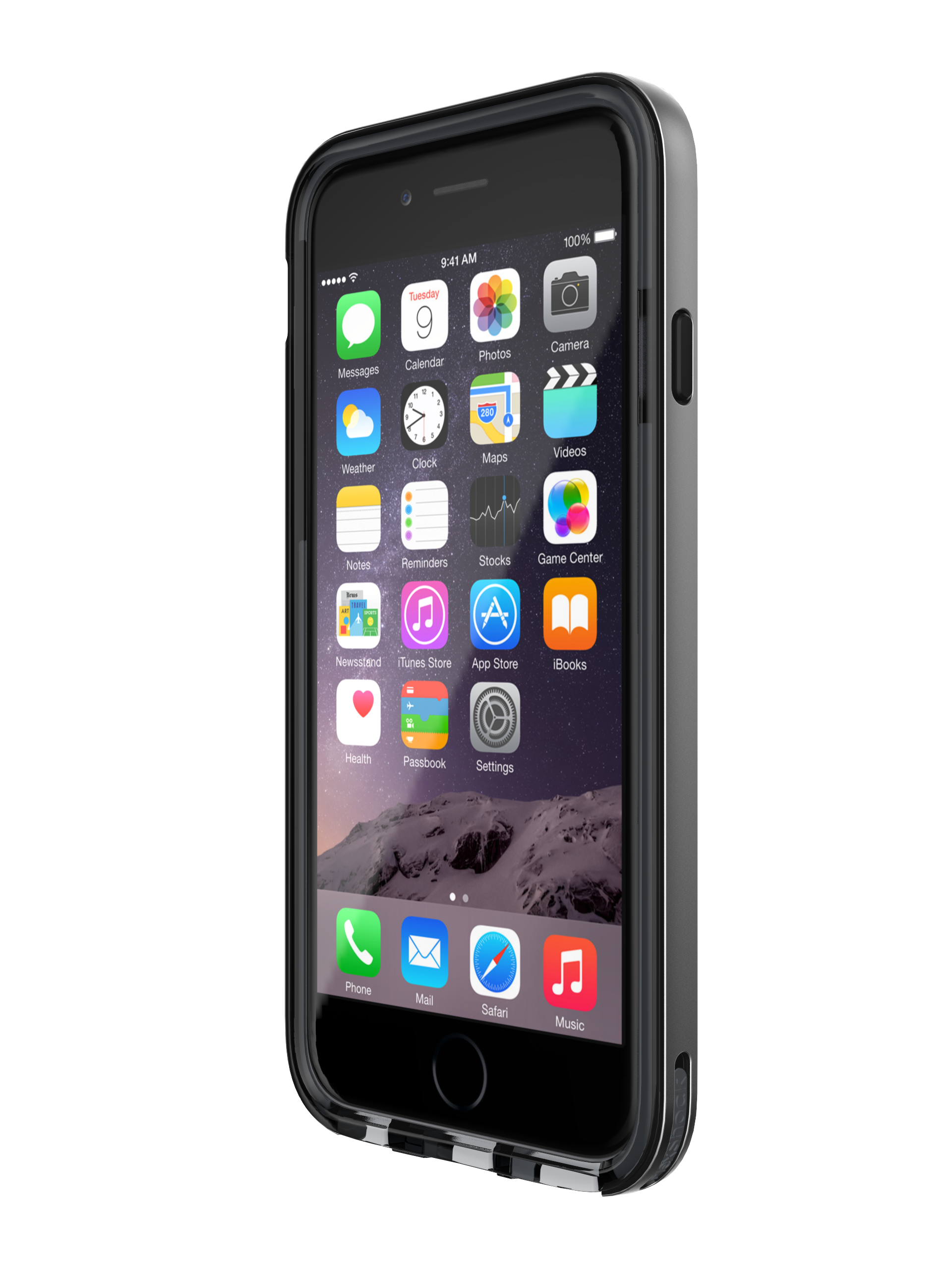 T21-5036 Tech21 Evo Elite for iPhone 6 - Space Grey (GreySmokey) (3)