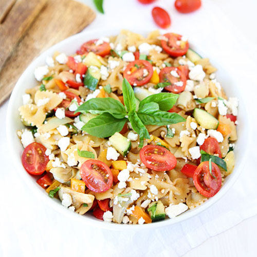 Easy Summer Pasta Salad: 9 Potluck Dishes That Are Sure To Impress At Your July 4th