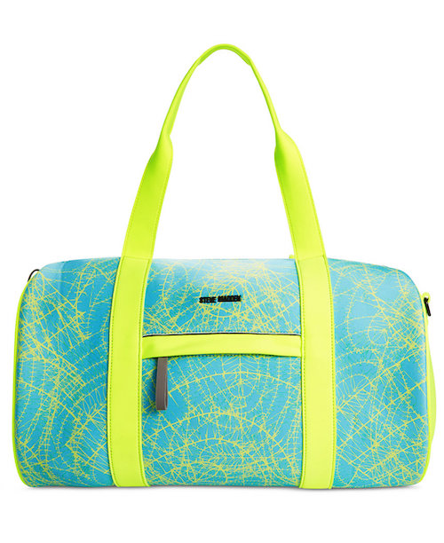 Brighten up your workout spot with this bold colored bag. Not only is it  fun and forward ea8b9443ab406