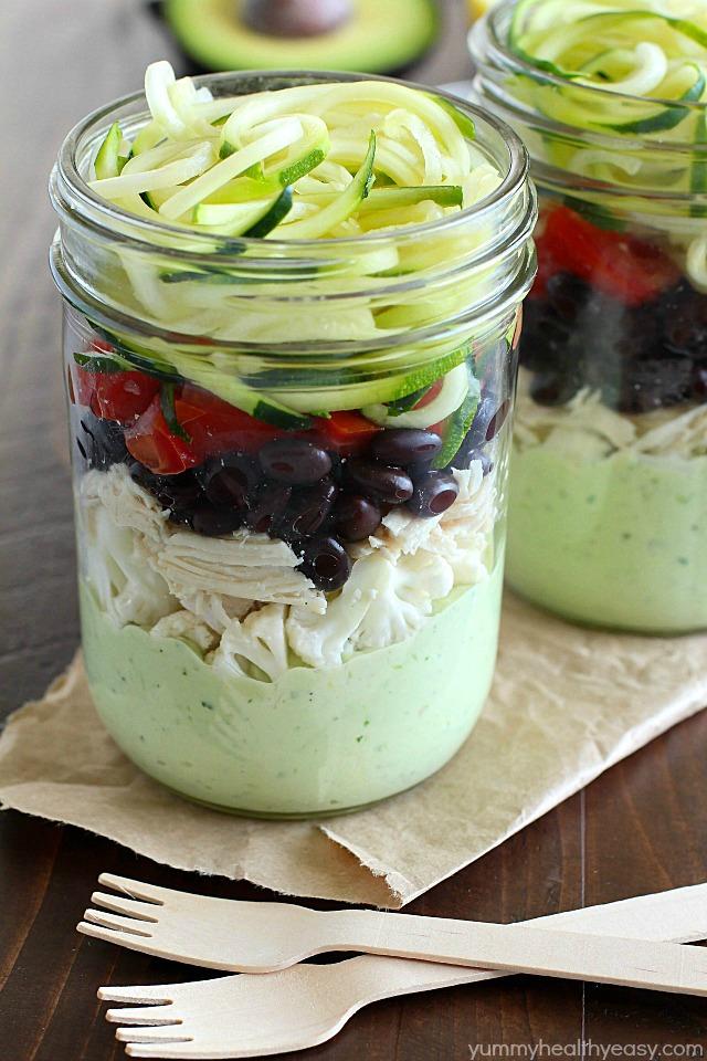 Southwest-Zucchini-Noodle-Mason-Jar-Salad-with-Avocado-Dressing-3