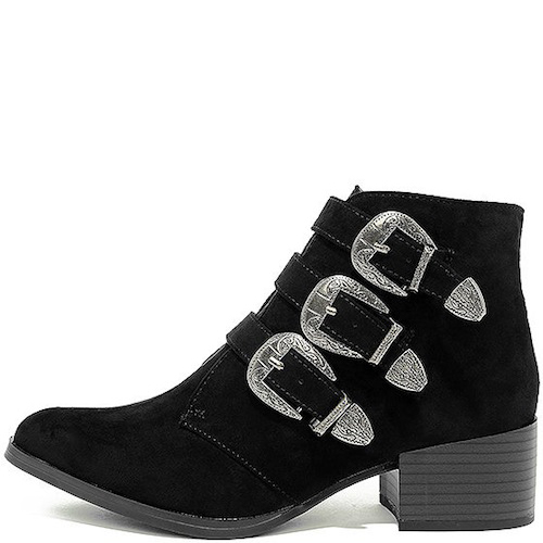 ceea2fd26cbe Lulus Belted Suede Ankle Booties  39. These adorable buckled booties can  easily be dressed down and worn with a flannel while roasting s mores.