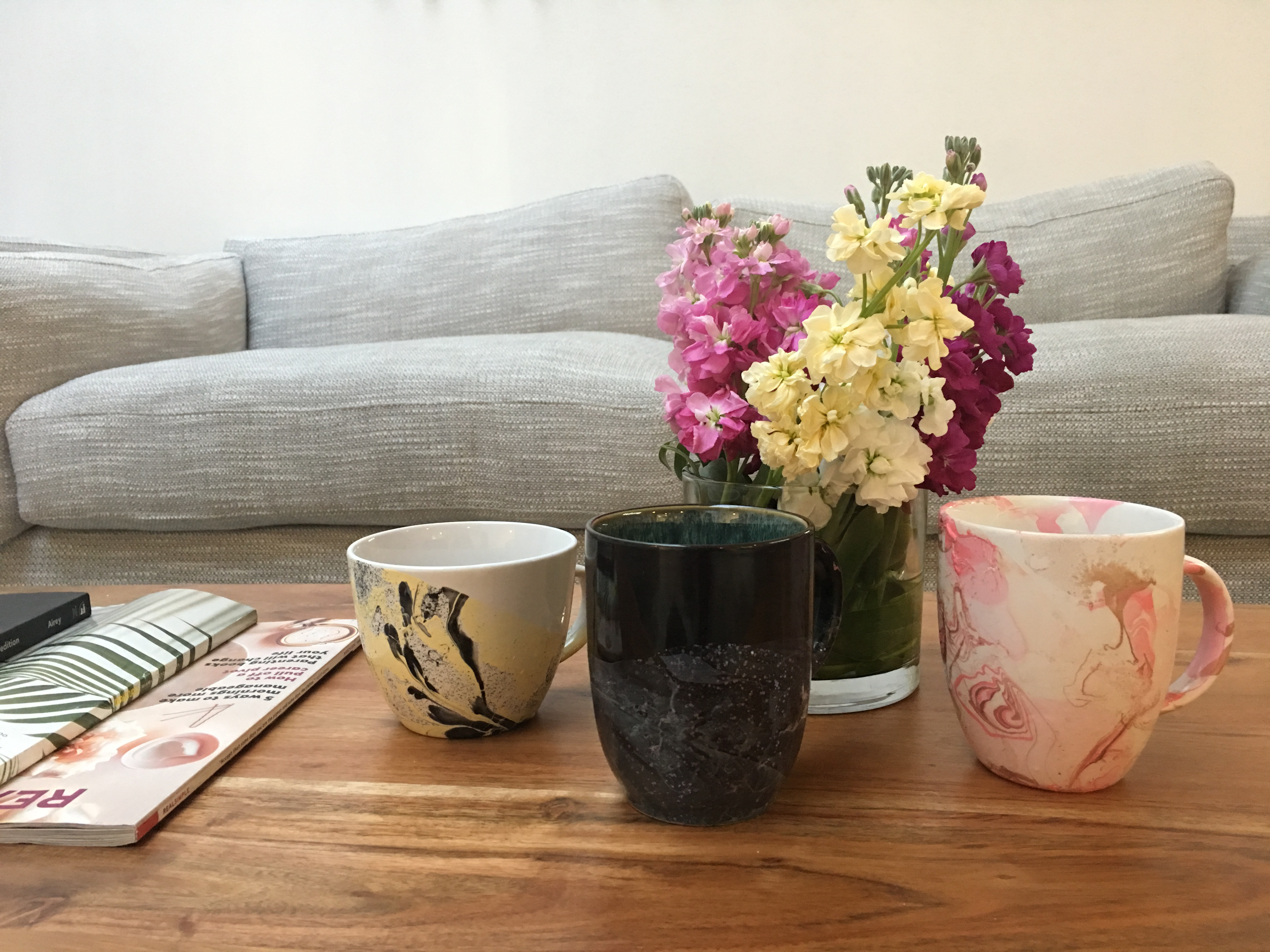These DIY Mugs Are Pretty Marble ous FabFitFun