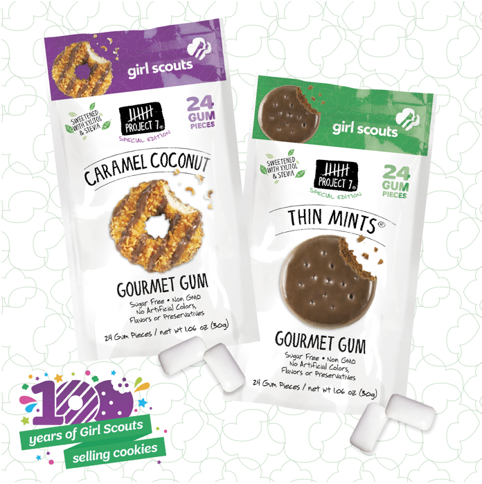 Girl Scouts Cookie-Inspired Gum Is a Real Thing - FabFitFun
