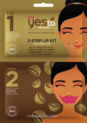 yes to coconut lip mask