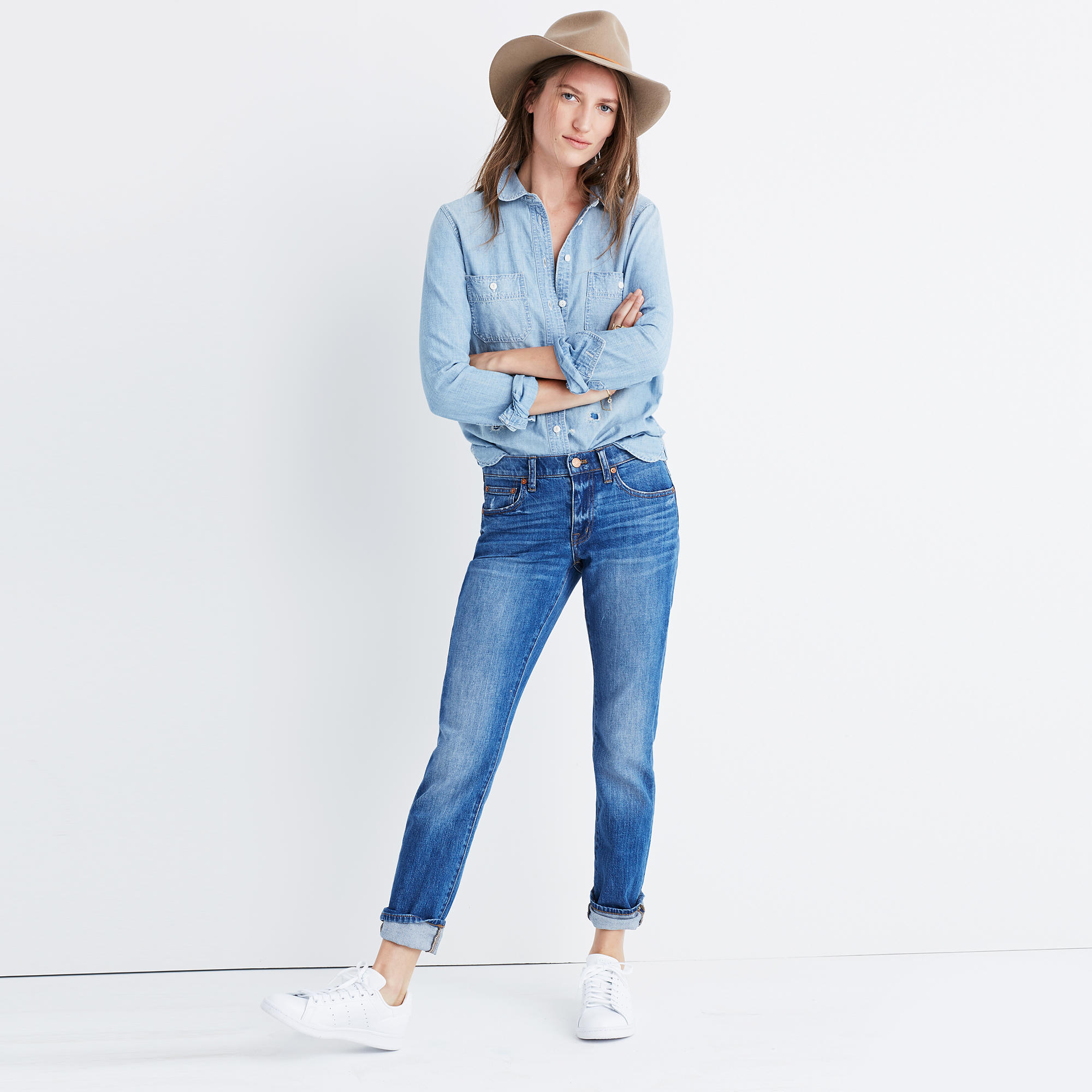18466662828 You can t go wrong with a pair of relaxed fitting jeans. Swap out your  skinny jeans for this slouchy and effortlessly chic style that can ...