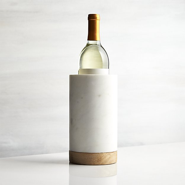 wood-and-marble-wine-cooler