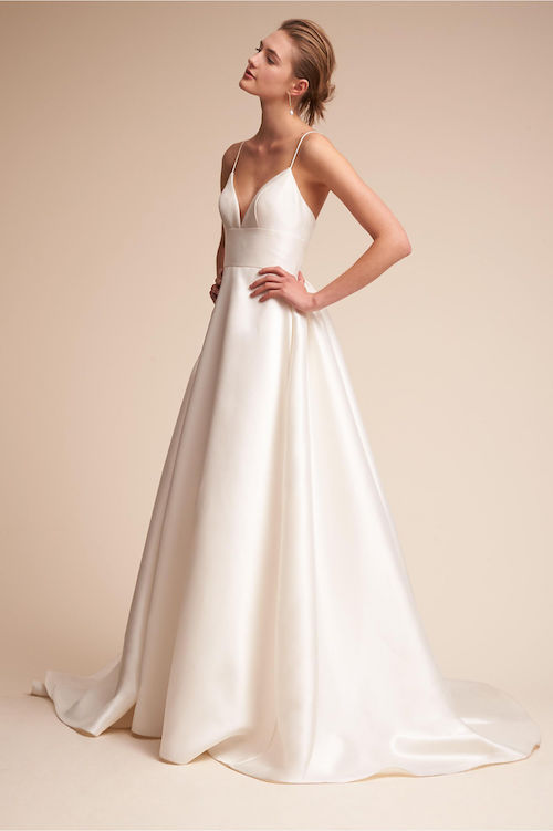 10 Elegant Wedding Gowns For The Minimalist Bride Fabfitfun