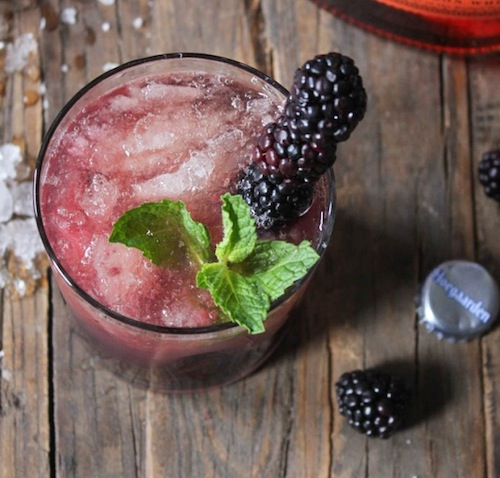 Blackberry-Whiskey-Beer-Cocktail
