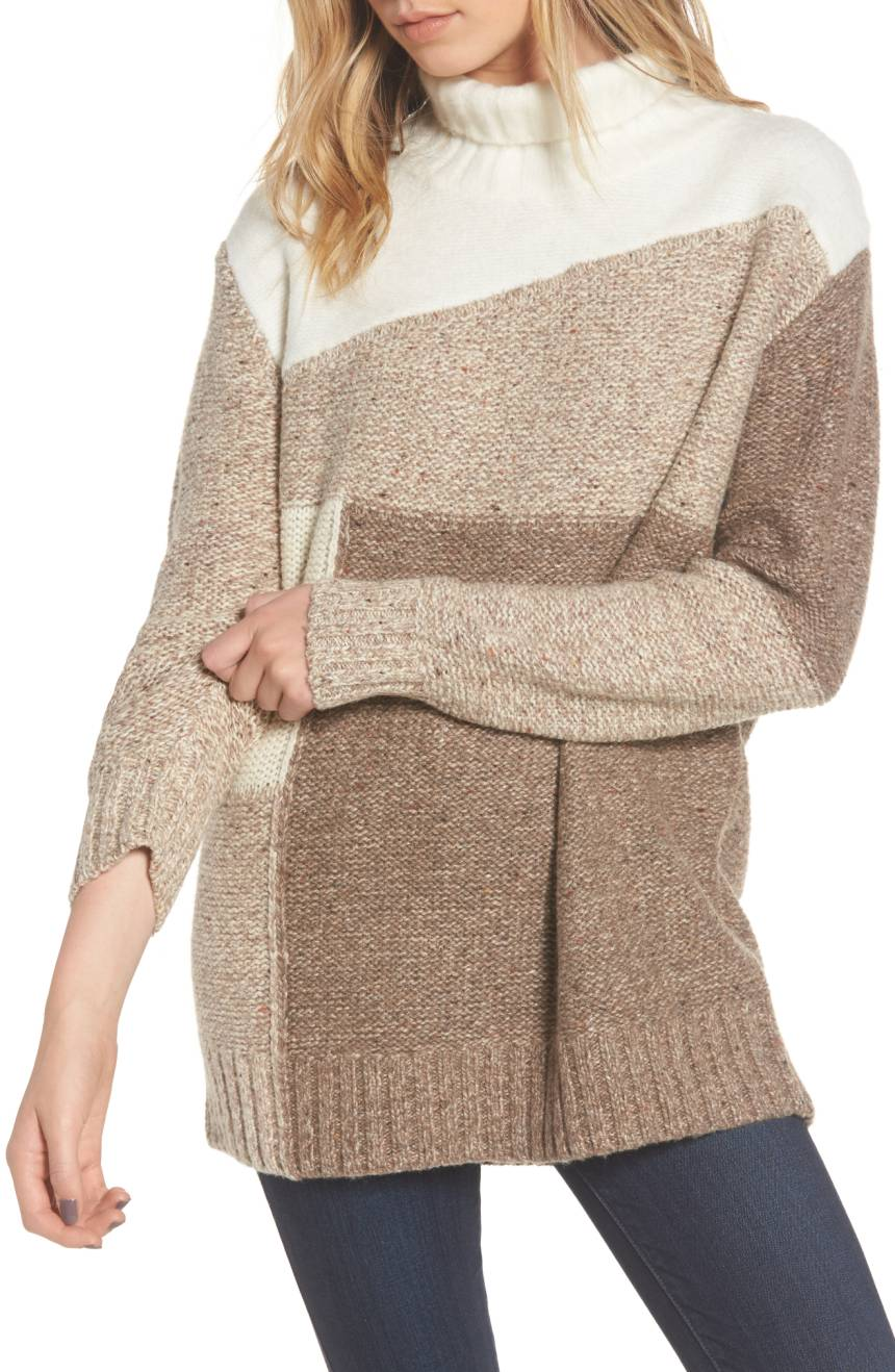 439cba09e You can get in on the neutral trend with this slouchy knit that s both  stylish and practical. All you need now is a good book and ...
